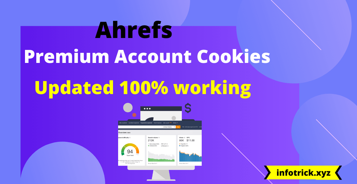 Ahrefs-premium-account-cookies